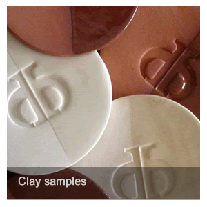 Clay sample images