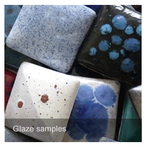 Visit glaze sample gallery